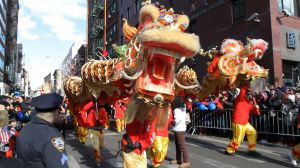 NYC's Chinatown celebrates the Year of the Serpent.
