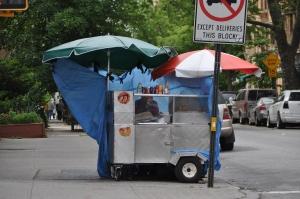 Empanada Lady Cart
