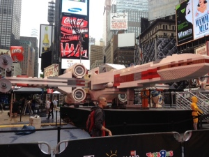 No wonder the rebels in Star Wars were always losing battles. Their ships are made out of Legos.