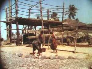 Still from Fitzpatrick's Bali Travelogue