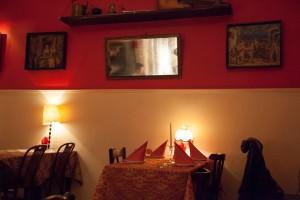 Dache na Pokrovke dining